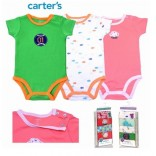 Body carter cộc tay set 5c